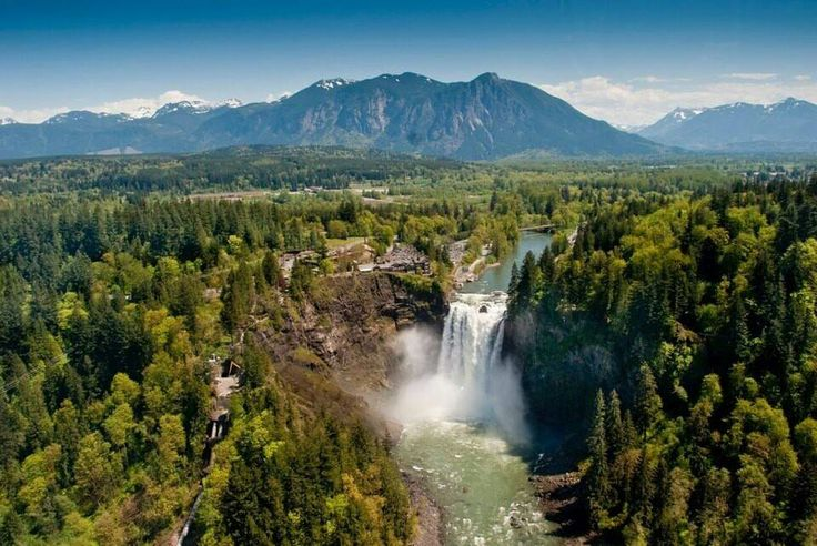 Snoqualmie Falls, Cascade Valley Corridor, Washington State - 365 Things To Do in Washington State's FB page.
