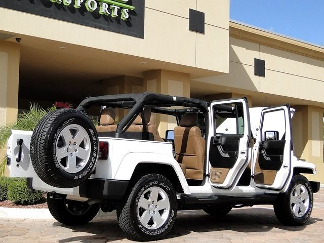White Jeep Wrangler Unlimited Vehicles Jeep White
