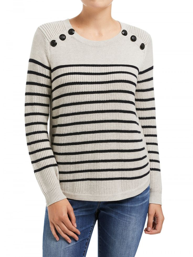 Button Detail Pullover