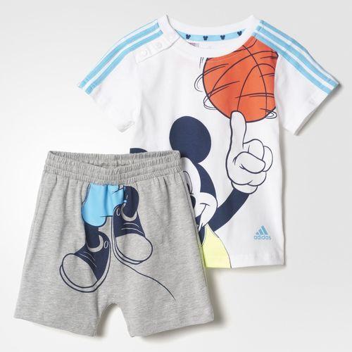 Ensemble été Mickey - blanc adidas | adidas France