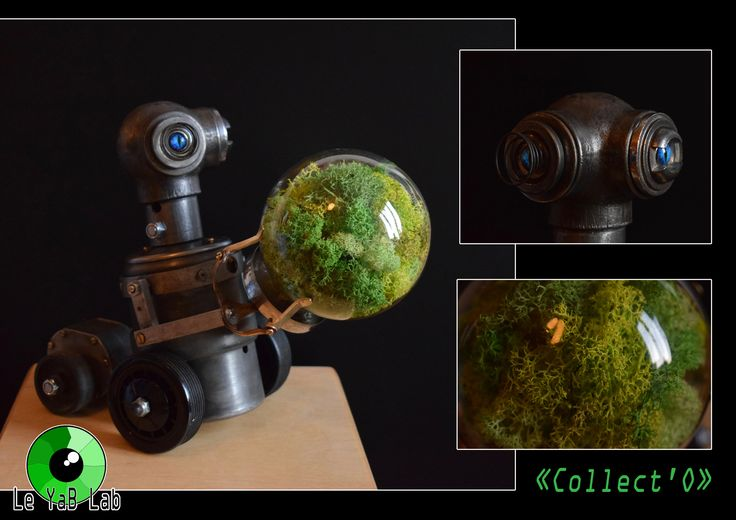 """Sculpture Upcycling """"Collect'O"""""""