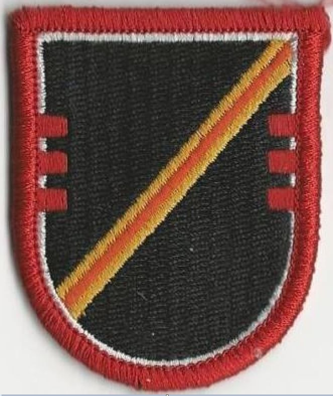 US ARMY FLASH - 16TH CAVALRY REGIMENT, 3RD SQUADRON, D COMPANY