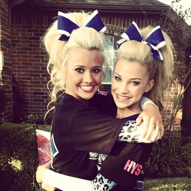Jamie Andries and Peyton Mabry Cheer Athletics Cheetahs. <3 They are my inspirations. They are the best cheerleaders i've ever seen. they are perfection. they've set my motivation level to a higher bar. they make me tell myself everyday to never give up, and keep going. <3