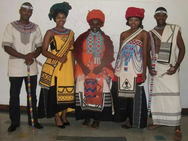Xhosa wedding outfits