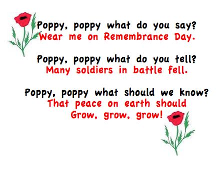 Poppy booklets for first graders to practice their printing. Perfect for Remembrance Day or Veterans Day.