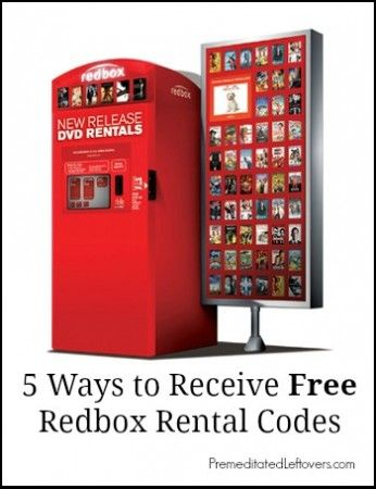 A list of free Redbox rental codes, where to find more Free Redbox Rental Codes and how to have them sent to you.