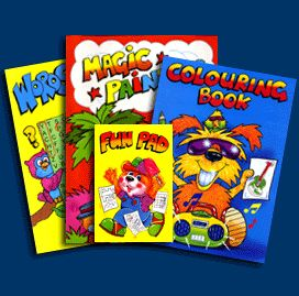 wf graham activity fun packs books childrens colouring books and promotional items uk - Color Books For Toddlers