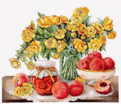 (1228) Персиковое варенье  ( по картинам В. Валевской)