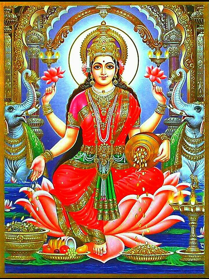 Jai Maa Lakshmi Jai Maa Lakshmi Pinterest Krishna Indian Gods