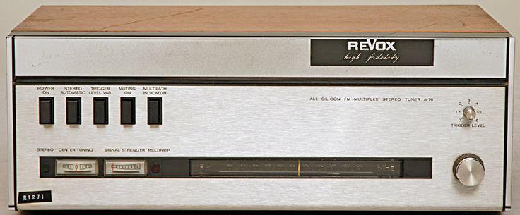 REVOX Tuner FM A76