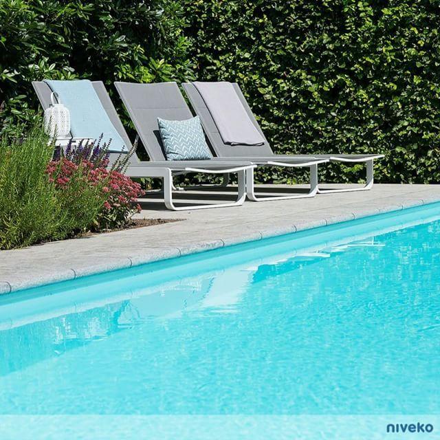 Designed only for relaxation… #lifestyle #design #health #summer #relaxation #architecture #pooldesign #gardendesign #pool #swimmingpool #pools #swimmingpools #niveko #nivekopools #nivekoplus