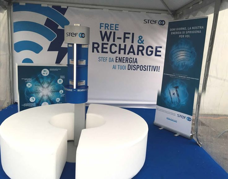 STAND STEF  con Charge Point Pila 2.03 | Parma Cibus 2016