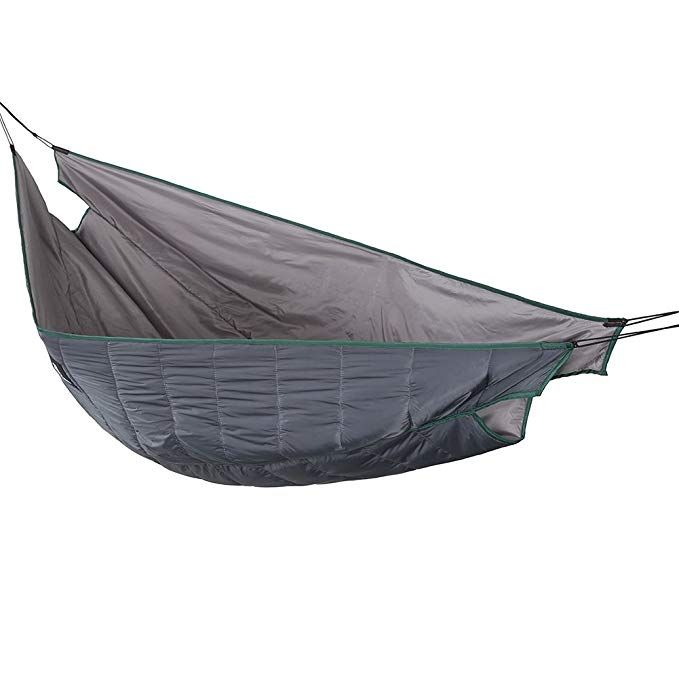 Chillax Travel Hammock with Integrated Suspension Camping /& Hiking Gray