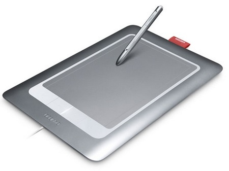 Wacom Bamboo Fun multitouch tablet