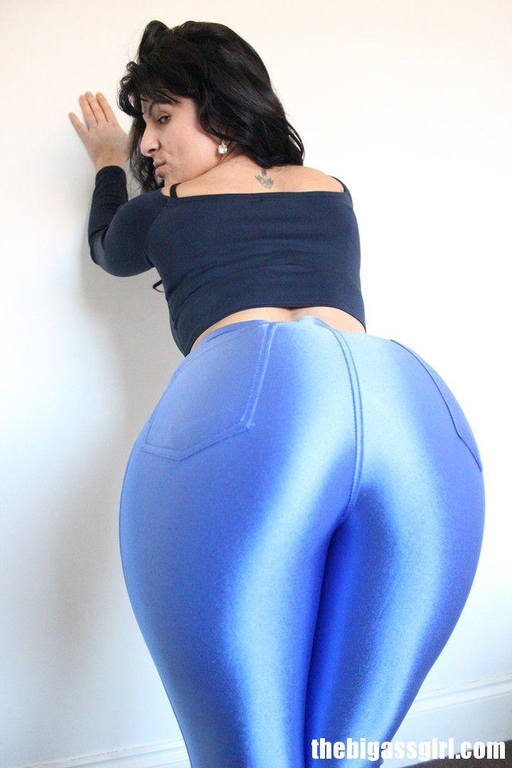 Big ass in satin
