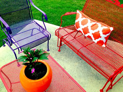 Find This Pin And More On Patio Colors (Metal Furniture) By Rogerunderhill.