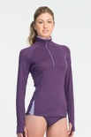 The lightweight Bolt Zip from our Technical Base Layers range is made with soft, supple, 150gm merino, so it's perfect for running or the gym. Advanced features include a close-to-body athletic fit for easy layering, underarm gussets for ease of movement, anti-chafe seams, and a zip neck for adjusting your temperature.