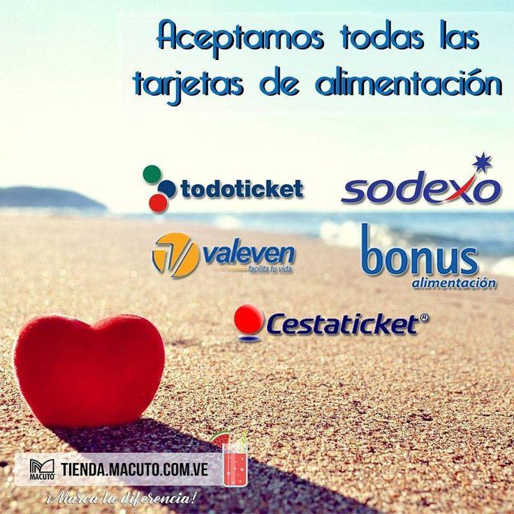 #Tarjetas #Banesco #Sodexo #Valeven #Bonus #Cestaticket #Macuto #Pago #Banco #Venezuela #Ropa #Zapato #shopping