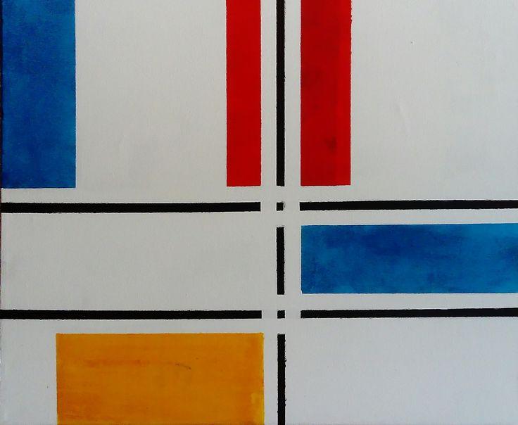 inspirowane Mondrianem, Wiktor