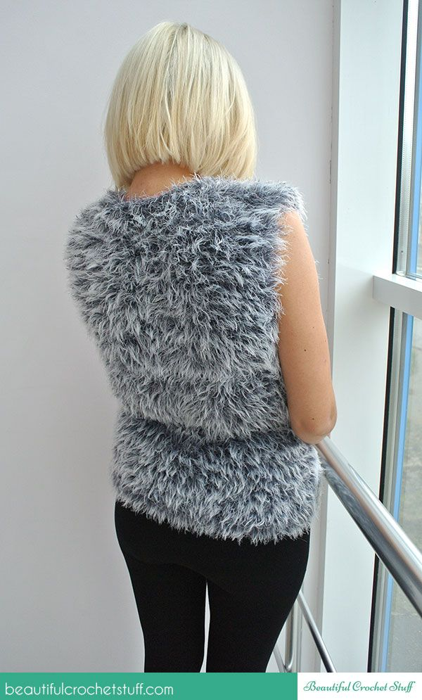 Free Easy Crochet Vest Pattern