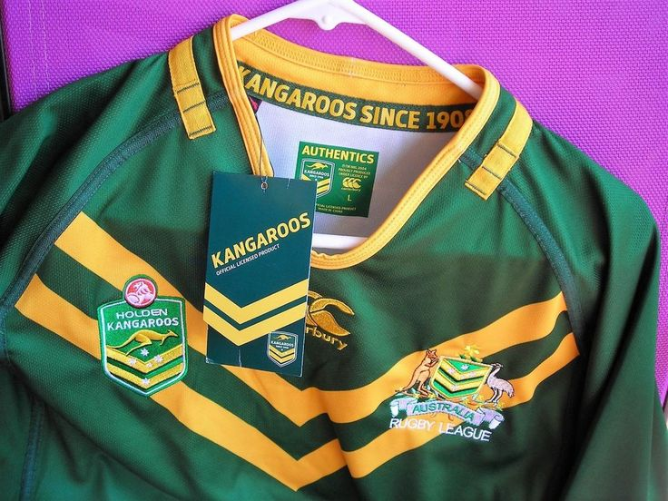 Australian Holden Kangaroos Rugby League Mens Classic Jersey Size Large NWT | Sporting Goods, Team Sports, Rugby | eBay!