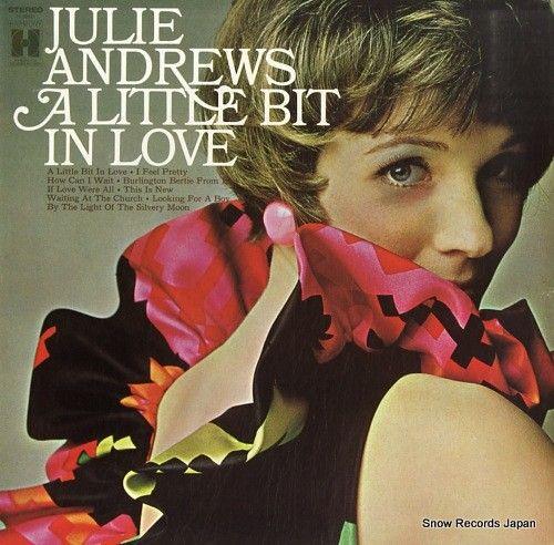 ジュリー・アンドリュース / ANDREWS, JULIE - a little bit in love - H30021