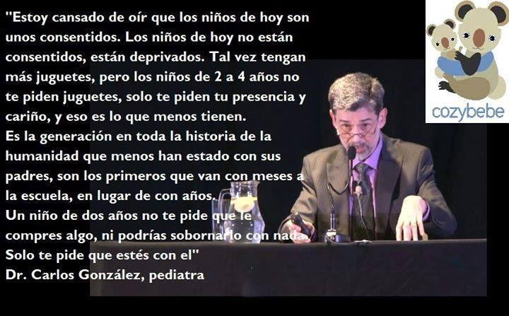 Dr. Carlos González Pediatra