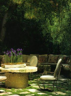 Rose Tarlow #outdoor living