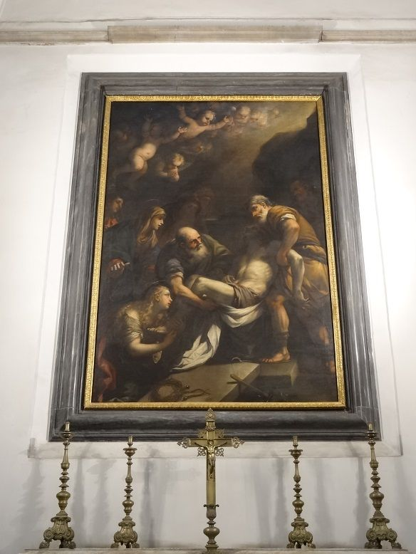 Luca Giordano - Deposizione. Pio Monte della Misericordia