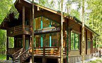 Проект деревянного дома из клееного бруса Сосновый берег, площадь 244 м2, 2 этажа, 4 спальни, фото 6