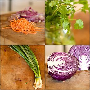 Red Cabbage Slaw for Tacos