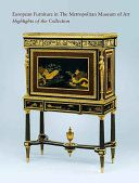 Coscia, J., Kisluk-Grosheide, D., Koeppe, W. & Wieder, W. 2006, European furniture in the Metropolitan Museum of Art : highlights of the collection, Yale University Press, New Haven.