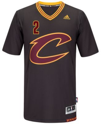 adidas Men's Kyrie Irving Cleveland Cavaliers New Swingman Jersey - Black XL