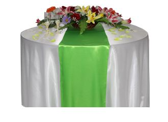 Table Runners - Chair Cover Rentals, Wedding Chair Covers Rental