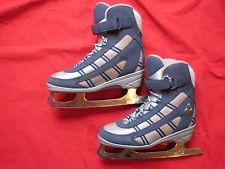 Jackson Softec Ice Skates Women's Skate Size 3 Shoe Size 4 Navy and Silver