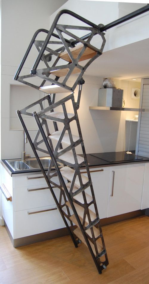 Favori Taciv Com Escalier Escamotable Pour Mezzanine