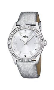 Lotus – 15981/1 – Montre Femme – Quartz – Analogique – Bracelet Cuir argent