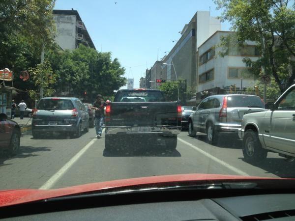 Asi esta la Av Juarez  29/05/2012
