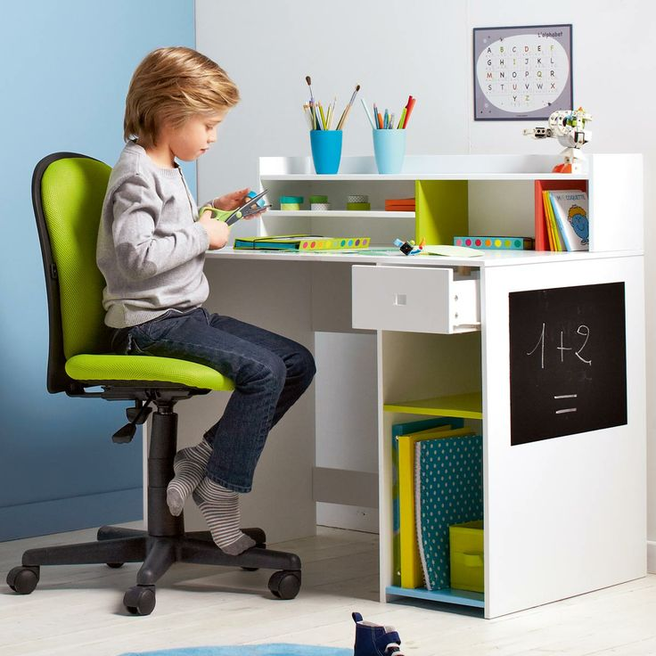 bureau casiers oxybul pour enfant de 5 ans 12 ans. Black Bedroom Furniture Sets. Home Design Ideas