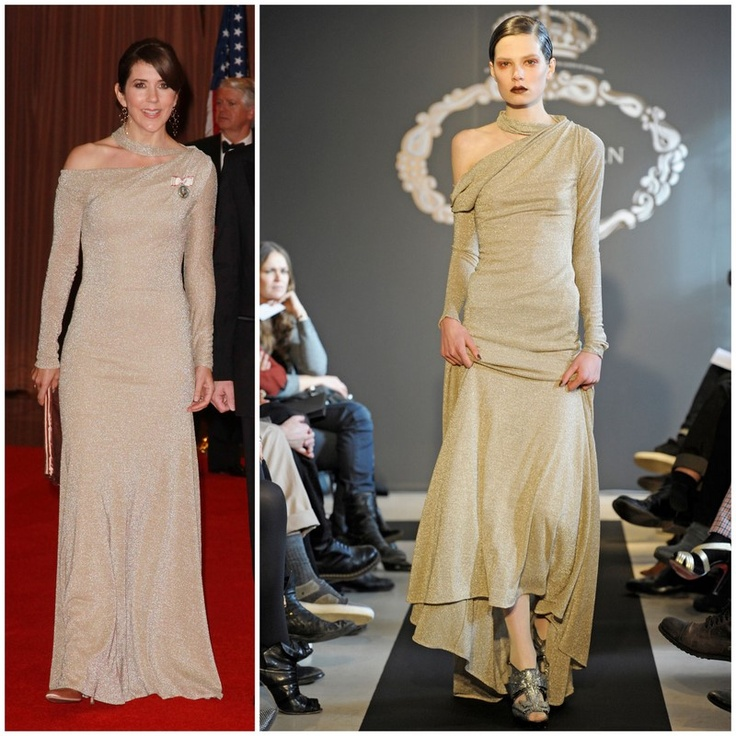 Princess Mary's dress from Ole Yde Autumn/Winter 2010 collection