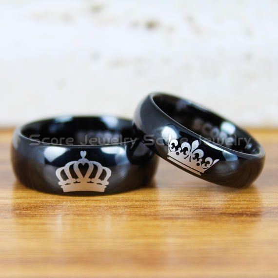 King and Queen Rings King Queen Rings King and Queen Bands King and Queen Wedding Rings King Queen Jewelry King Queen Couple Rings King Crown Queen Crown Crown Rings Crown Wedding Band King Crown Queen Crown