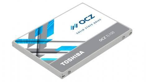 Toshiba throws down gauntlet in battle for cheapest SSDs Read more Technology News Here --> http://digitaltechnologynews.com In the battle of increasingly affordable SSDs Toshiba has a new weapon in the form of a fresh range of value-oriented drives.  Toshiba's OCZ TL100 series comes in 120GB and 240GB capacities and it's nippy enough for a budget SSD with sequential read speeds of up to 550MB/s and writes of up to 530MB/s. Random read/write performance (4KiB QD32) is rated at up to 85000…