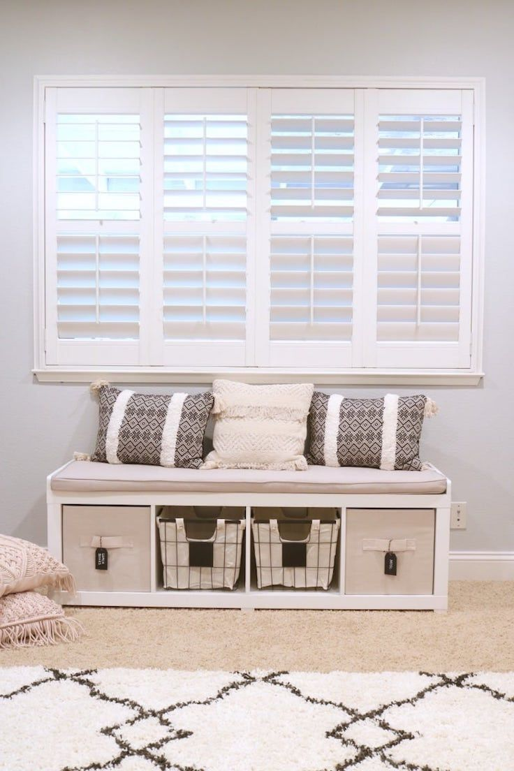 6805b048715c37f6db4a33c9ce50c790 - Better Homes And Gardens 3 Cube Organizer Bench With Cushion