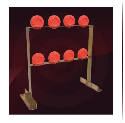 Get out and do something fun! Shoot a gun! These steel target stands are great for clay shooting and other targets.