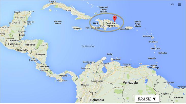 REPUBLICA DOMINICANA MAPA ONDE FICA