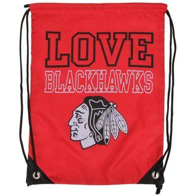 Women's Chicago Blackhawks Love Drawstring Backpack