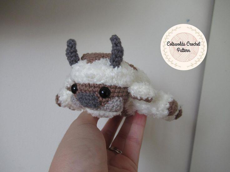 Appa crochet pattern avatar the last airbender amigurumi