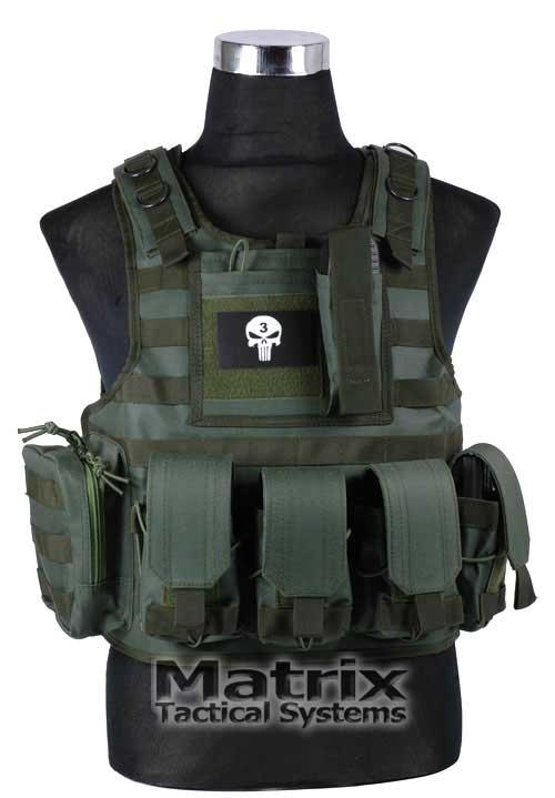 Matrix Tactical Systems High Speed Combat Simulation Vest