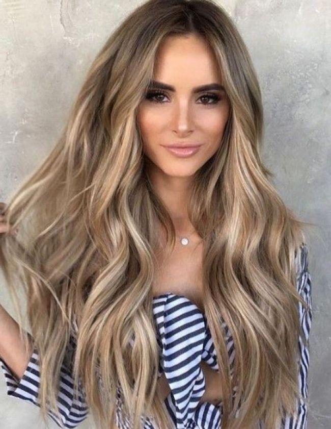 Esmerler Icin Sari Golgeli Sac Renkleri 2019 Blonde Wavy Hair