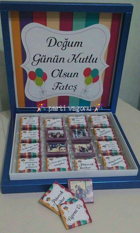 Bir doğum günü süprizi daha dost çok başka bişey Bursa'dan sibel hanımın arkadaşı için hazırladığımız çikolatalarımız ☺ AFİYET OLSUN ☺ BİLGİ VE SİPARİŞ İÇİN BİZE WHATSAPP  05532341453 NUMARASINDAN ULAŞABİLİRSİNİZ  #partivagonu #partisüsü #party #parti #doğumgünüpartisi #doğumgünü #birthdayparty #konuşmabalonu #çikolata #kampanya #özelbaskılıçikolata #bayramçikolatası #nişançikolatası #istemeçikokatası #sözçikolatası #mevlüt #doğum #ask #love #aşk #aşkçikolatası#arkadaşahediye